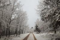 El camino de la casa rural