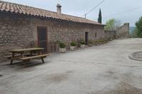 La entrada de la casa rural