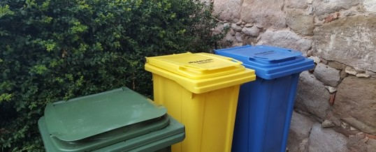 Recycle in the rural home